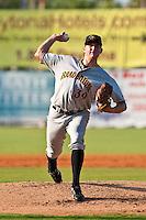 Aaron Pribanic of the Bradenton Marauders during the game at Jackie Robinson Ballpark in Daytona Beach, Florida on August 2, 2010. Photo By Scott Jontes/Four Seam Images
