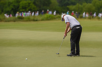 Martin Piller (USA) watches his putt on 3 during round 3 of the AT&amp;T Byron Nelson, Trinity Forest Golf Club, at Dallas, Texas, USA. 5/19/2018.<br /> Picture: Golffile | Ken Murray<br /> <br /> <br /> All photo usage must carry mandatory copyright credit (&copy; Golffile | Ken Murray)