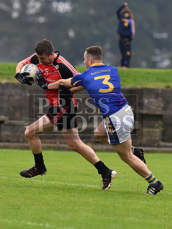 St Kevins Aidan Craven Bracknagh Darren Groome. Photo:Colin Bell/pressphotos.ie
