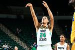 DENTON TEXAS, November 6: University of North Texas Mean Green Men's Basketball v Angelo State University at the Super Pit in Denton on November 6 2018 (Photo Rick Yeatts Photography/Colin Mitchell)
