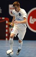 20191010 - HALLE: Kherson's Korsun  is pictured during the UEFA Futsal Champions League Main Round match between FP Halle-Gooik (BEL) and Kherson (UKR) on1 0th October 2019 at De Bres Sportcomplex, Halle, Belgium. PHOTO SPORTPIX | SEVIL OKTEM