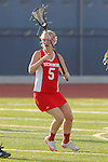 Placentia, CA 05/14/10 - Ava Elsner (Redondo #5) in action during the 2010 CIF Girls Lacrosse Championship game between Redondo Union and Los Alamitos, Los Alamitos defeated Redondo 24-7.