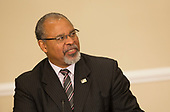 Former Ohio Secretary of State Ken Blackwell attends the first meeting of the Presidential Advisory Commission on Election Integrity at The White House in Washington, DC, July 19, 2017. Credit: Chris Kleponis / CNP<br /> Credit: Chris Kleponis / CNP