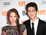 Liana Liberato & Nat Wolff attending the The 2012 Toronto International Film Festival.Red Carpet Arrivals for 'Writers' at the Ryerson Theatre in Toronto on 9/9/2012