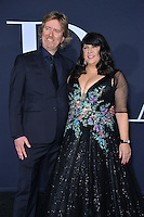 E.L. James &amp; Niall Leonard at the premiere of &quot;Fifty Shades Darker&quot; at the Theatre at the Ace Hotel, Los Angeles, USA 18th January  2017<br /> Picture: Paul Smith/Featureflash/SilverHub 0208 004 5359 sales@silverhubmedia.com