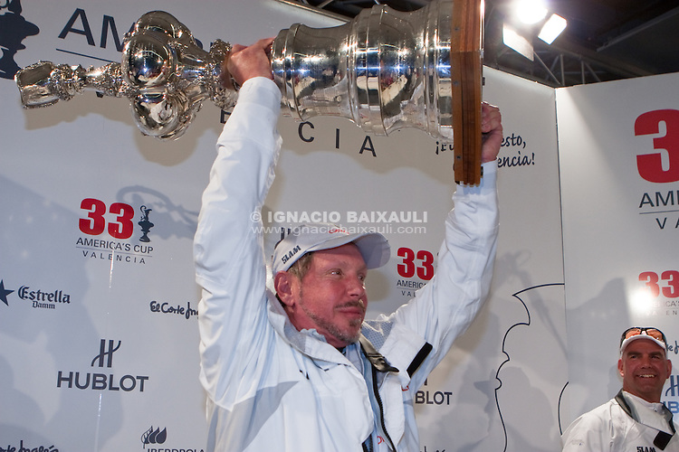 USA Win 33rd America's Cup in Valencia. 33rd America's Cup. 14/2/2010 Valencia, Spain