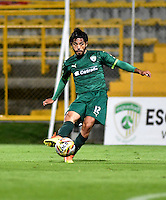 BOGOTA - COLOMBIA -21 -10-2016: Fabian Vargas, jugador de La Equidad en acción durante partido entre La Equidad y Boyaca Chico FC, por la fecha 17 de la Liga Aguila II-2016, jugado en el estadio Metropolitano de Techo de la ciudad de Bogota. / Fabian Vargas, player of La Equidad, in action during a match La Equidad and Boyaca Chico FC, for the  date 17 of the Liga Aguila II-2016 at the Metropolitano de Techo Stadium in Bogota city, Photo: VizzorImage  / Luis Ramirez / Staff.