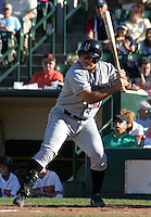 July 18, 2003:  Cody McKay of the Indianapolis Indians, Class-AAA affiliate of the Milwaukee Brewers, during an International League game at Frontier Field in Rochester, NY.  Photo by:  Mike Janes/Four Seam Images