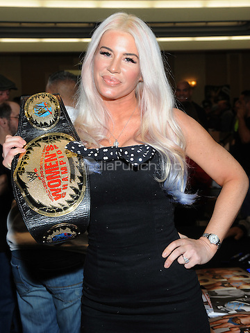 "NEW YORK, NY - MARCH 04:  Ashley Massaro attends the ""Big Event"" at the LaGuardia Plaza Hotel on March 4, 2017 in New York City.  Photo by: George Napolitano/ MediaPunch"