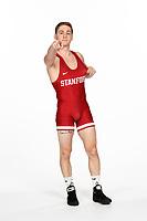 Stanford, CA -- October 9, 2018: Stanford Wrestling Photo Day.