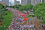 Manifestaçao  contra o aumento das tarifas dos transportes, Movimento Passe Livre, MPL. São Paulo. 2016. Foto de Lineu Kohatsu.