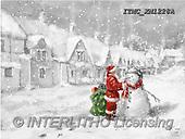 Marcello, CHRISTMAS SANTA, SNOWMAN, WEIHNACHTSMÄNNER, SCHNEEMÄNNER, PAPÁ NOEL, MUÑECOS DE NIEVE, paintings+++++,ITMCXM1228A,#X#