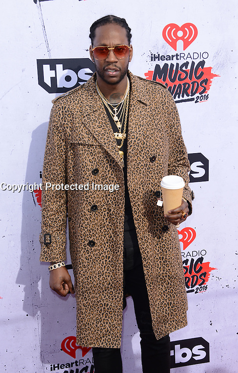 2 Chainz @ the 2016 iHeart Radio Music awards held @ the Forum.<br /> April 3, 2016