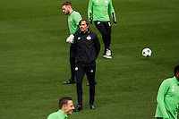 Official traixning of PSV Eindhoven  before the Champions League match