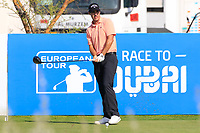 Chase Koepka (USA) during the second round of the NBO Open played at Al Mouj Golf, Muscat, Sultanate of Oman. <br /> 16/02/2018.<br /> Picture: Golffile | Phil Inglis<br /> <br /> <br /> All photo usage must carry mandatory copyright credit (&copy; Golffile | Phil Inglis)