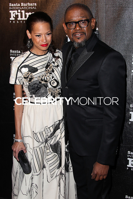 SANTA BARBARA, CA - JANUARY 05: Keisha Whitaker, Forest Whitaker at the Santa Barbara International Film Festival's 8th Annual Kirk Douglas Award For Excellence In Film held at Bacara Resort and Spa on January 5, 2014 in Santa Barbara, California. (Photo by Xavier Collin/Celebrity Monitor)