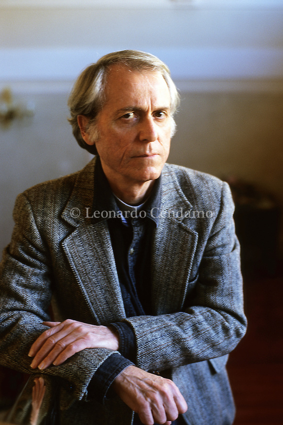 Don Delillo, american writer. Bologna, © Leonardo Cendamo
