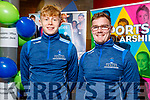 Darragh Lyne and Greg Horan (Tralee) working behind the scenes at the  IT Tralee's Open Day on Friday Morning.