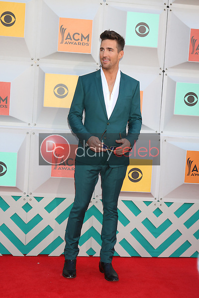 Jake Owen<br /> at the 2016 Academy of Country Music Awards Arrivals, MGM Grand Garden Arena, Las Vegas, NV 04-03-16<br /> David Edwards/DailyCeleb.com 818-249-4998