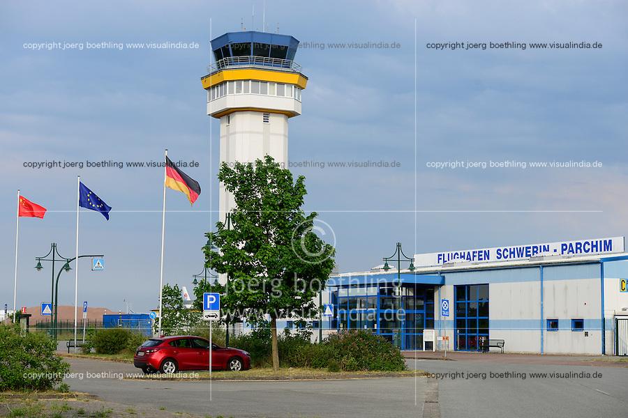 GERMANY, airport Schwerin Parchim of chinese investor Jonathan Pang, LinkGlobal Logistics C. Ltd / DEUTSCHLAND, Flughafen Schwerin Parchim, ein ehemaliger Flughafen der Wehrmacht, dann des sowjetischen Militaers, heute  im Besitz des chinesischen Investor Jonathan Pang, LinkGlobal Logistics C. Ltd