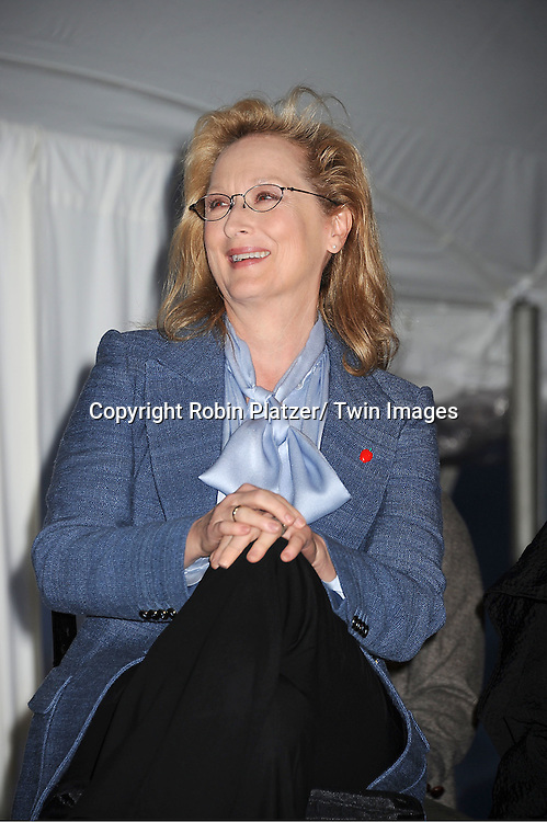 "Meryl Streep attends the ""Made in NY""  Awards at Gracie Mansion on June 4, 2012 in New York City."