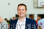 Mikey Sheehy Fianna Fáil Tralee area at the Local Election count centre at John Mitchels Clubhouse in Tralee on Sunday.