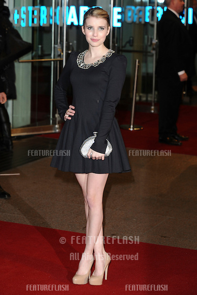 Emily Roberts arriving for the European premiere of 'Valentine's Day' at Odeon Leicester Square, London.  11/02/2010  Picture by: Steve Vas / Featureflash