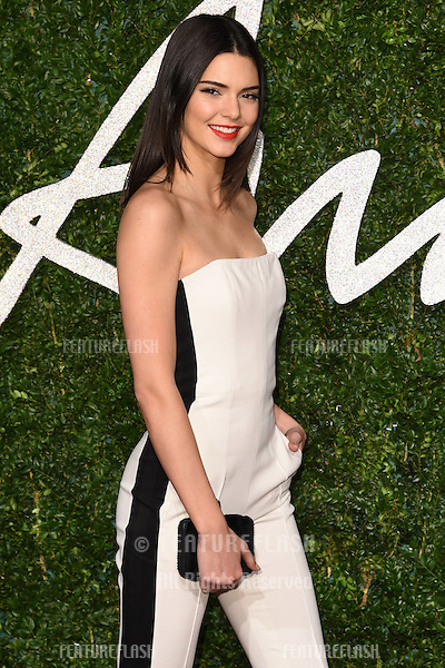 Kendall Jenner arrives for British Fashion Awards 2014 at the London Coliseum, Covent Garden, London. 01/12/2014 Picture by: Steve Vas / Featureflash