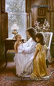 CHILDREN, KINDER, NIÑOS, paintings+++++,USLGSK0013,#K#, EVERYDAY ,Sandra Kock, victorian