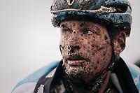 Kevin Pauwels (BEL/Marlux-Napoleon Games) after finishing<br /> <br /> Elite Men's race<br /> Superprestige Gavere / Belgium 2017