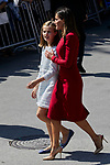 Princess Leonor of Spain and Queen Letizia of Spain visit Covadonga, Spain. September 08, 2018. (ALTERPHOTOS/A. Perez Meca)