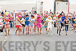 DRAG: Locals who dressed up as drag queens who started the Ballyheigue Summer Festival Parade by running through the village of Ballyheigue on Sunday.