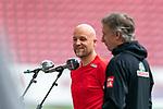 Rouven Schröder / Schroeder (Vorstand Sport 1. FSV Mainz 05), Frank Baumann (Geschäftsführer Fußball Werder Bremen)<br /> <br /> <br /> Sport: nphgm001: Fussball: 1. Bundesliga: Saison 19/20: 33. Spieltag: 1. FSV Mainz 05 vs SV Werder Bremen 20.06.2020<br /> <br /> Foto: gumzmedia/nordphoto/POOL <br /> <br /> DFL regulations prohibit any use of photographs as image sequences and/or quasi-video.<br /> EDITORIAL USE ONLY<br /> National and international News-Agencies OUT.