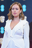 www.acepixs.com<br /> <br /> February 12 2017, London<br /> <br /> Tanya Burr arriving at the 70th EE British Academy Film Awards (BAFTA) at the Royal Albert Hall on February 12, 2017 in London, England<br /> <br /> By Line: Famous/ACE Pictures<br /> <br /> <br /> ACE Pictures Inc<br /> Tel: 6467670430<br /> Email: info@acepixs.com<br /> www.acepixs.com