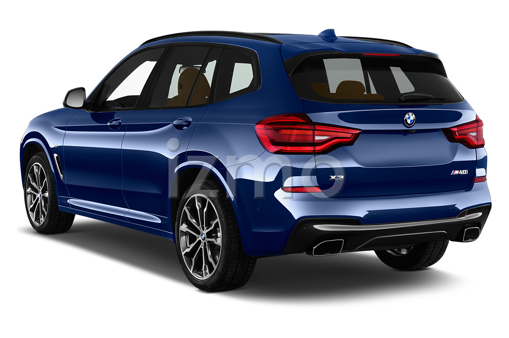 Car pictures of rear three quarter view of a 2019 BMW X3 M40i 5 Door SUV angular rear