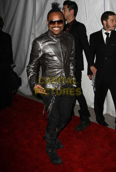 APL.DE.AP of Black Eyed Peas ( (Allan Pineda Lindo).E! Oscar Viewing And After Party held At Drai's at The W Hotel, Hollywood, California, USA..March 7th, 2010.full length black jeans denim silver metallic leather jacket sunglasses shades .CAP/ADM/KB.©Kevan Brooks/AdMedia/Capital Pictures.