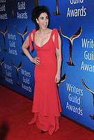 11 February 2018 - Beverly Hills, California - Sarah Silverman. 2018 Writer's Guild Awards held at The Beverly Hilton Hotel. <br /> CAP/ADM/BT<br /> &copy;BT/ADM/Capital Pictures