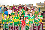 Students at Moyderwell primary school Clounalour Tralee wearing GAA Jerseys to celebrate 125 years of the GAA on Friday.