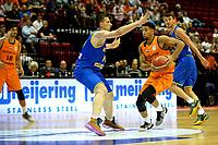 GRONINGEN - Basketbal, Nederland - Roemenie, WK kwalificatie 2019, Martiniplaza, 28-06-2018 Leon  Williams