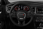 Car pictures of steering wheel view of a 2018 Dodge Charger SXT 4 Door Sedan