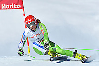 February 16, 2017: Ana DREV (SLO) competing in the women's giant slalom event at the FIS Alpine World Ski Championships at St Moritz, Switzerland. Photo Sydney Low