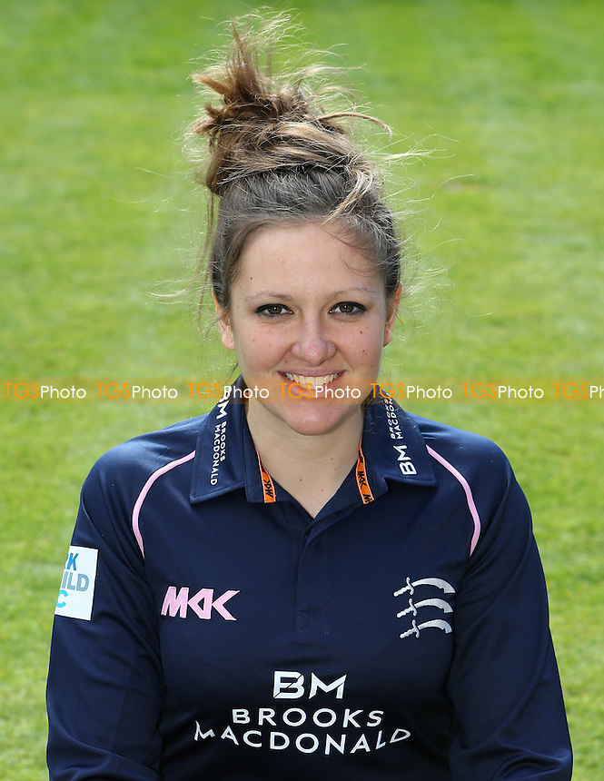 Middlesex Women's captain Isabelle Westbury during the Middlesex CCC Press Day at Lord's Cricket Ground on 8th April 2016