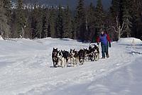 Susan Butcher Near Elim Checkpoint Iditarod