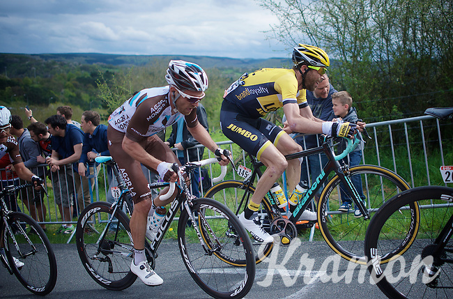 Laurens ten Dam (NLD/LottoNL-Jumbo) up La Redoute (1650m/9.7%)<br /> <br /> 101th Liège-Bastogne-Liège 2015