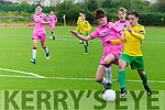 SSE Airtricity U15 League Kerry SBGL v Wexford Youths at Mounthawk Park on Monday Kerry's Captain Sean McGarth brought down for a penalty by Wexford's Kyle Scallan