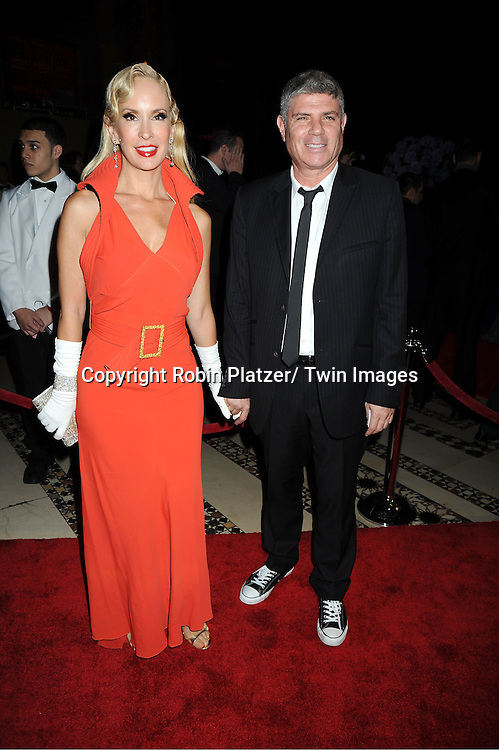 Tracy Stern and guest attends The New Yorkers for Children 2011 Fall Gala ..on September 20, 2011 at Cipriani 42nd Street in New York City. Carmelo Anthony was honored.