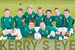 6381- 6384.COMPETITION: Listowel Celtic under 9s who played in the Dynamos 7 a-side Soccer Blitz at Dynamos Soccer Grounds, Mounthawk, on Sunday. Front l-r: Darragh Sheehan and Kieran Lynch. Back l-r: Jack Foley, Conor Horgan, Erin Finucane, Jason Foley, Cathal Keane, Cathal O'Sullivan and Kieran O'Connell.
