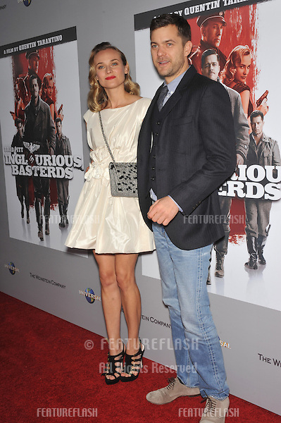 "Diane Kruger & Joshua Jackson at the DVD launch of her movie ""Inglourious Basterds"" at the New Beverly Cinema, Los Angeles..December 14, 2009  Los Angeles, CA.Picture: Paul Smith / Featureflash"