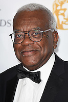 Sir Trevor MacDonald<br /> in the winners room at the 2016 BAFTA TV Awards, Royal Festival Hall, London<br /> <br /> <br /> &copy;Ash Knotek  D3115 8/05/2016