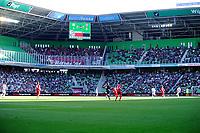 GRONINGEN - Voetbal, FC Groningen - FC Twente,  Eredivisie , Noordlease stadion, seizoen 2017-2018, 24-09-2017,   overzicht stadion